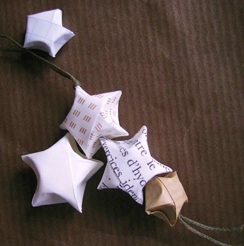 D coration de no l maison artur stiles - Decoration de noel en origami ...